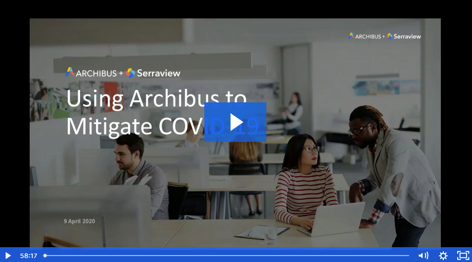 Thumbnail - Using Archibus to Mitigate COVID-19